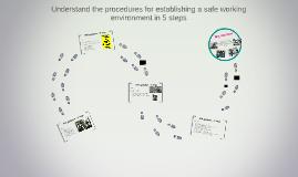 Understand the procedures for establishing a safe working en