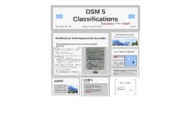 DSM 5 Classifications