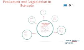 Procedure legislation in schools
