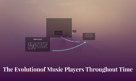 The Evolutionof Music Players Throughout Time
