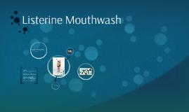 Visual Argument Listerine Mouthwash Advertisement