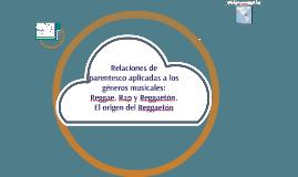 Origen del reggaetón