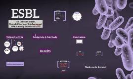 ESBL Presentation