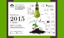 Semanas de la Ciencia y la Innovación en Canarias 2015
