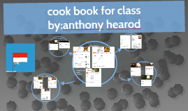 cook book for class