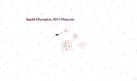 Sochi Olympics, 2014 mascots