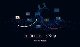Anúncios - 3/8/19