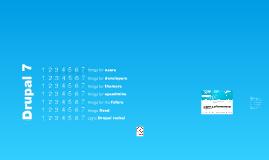 7 x 7 improvements in Drupal 7 (Dev days)