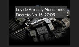 Ley de Armas y Municiones