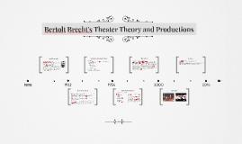 Bertolt Brecht's modern representations