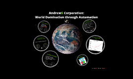 Andrews Corporation:  World Domination through Automation