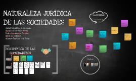 Copy of NATURALEZA JURÍDICA DE LAS SOCIEDADES