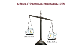 the Society of Undergraduate Mathematicians