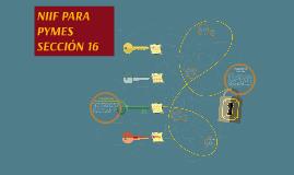 NIIF PARA PYMES SECCIÓN 16