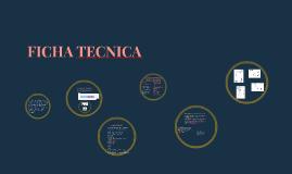 Copy of FICHAS TECNICAS EN DISEÑO DE MODAS