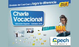 Copy of Charla Vocacional