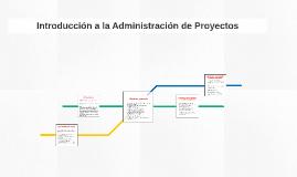 Introducción al Manejo de Proyectos
