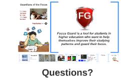 Focus Guard, HackTheBrain presentation