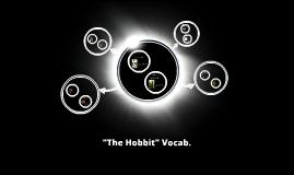 """""""The Hobbit"""" Vocab."""