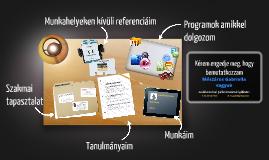 Desktop Prezumé by Gabriella Mészáros
