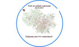 Połączmy sieć tras rowerowych