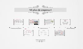 Mi plan de empresa I