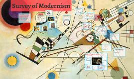 Survey of Modernism