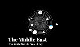 The Middle East: The World Wars to Present Day