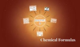 Copy of Chemical Formulas