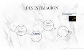 DESESTIMACIÓN