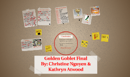 Golden Goblet Final