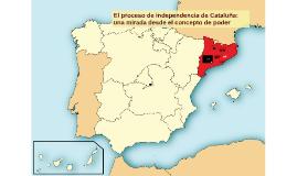 El Proceso soberanista de Cataluña