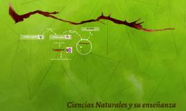 Ciencias Naturales y su enseñanza