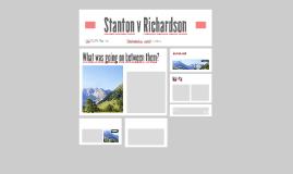 Stanton v Richardson