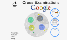 Cross Examination of Google