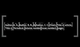 Copy of APA Citations-- References-- for EHCA