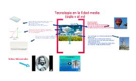 Tecnologia en la Edad Media (siglo v hasta el xv)