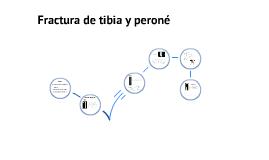 MONOGRAFÍA - FRACTURA DE TIBIA Y PERONÉ