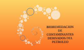 BIORREMEDIACIÓN DE CONTAMINANTES DERIVADOS DEL PETRÓLEO