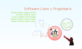 Copy of Software Libre y Propietario