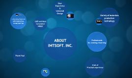 Copy of 2014년 아이엠티소프트 회사소개서