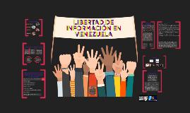 Libertad de Información Venezuela