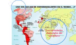 Las variedades dialectales del castellano