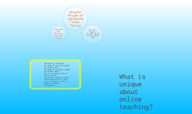 High Quality Online Teaching