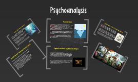 : Psychoanalysis