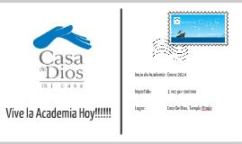Copy of Academia de lideres - Casa De Dios-