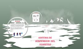 SISTEMA DE SUSPENSION  DEL VEHICULO