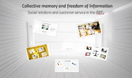 Collective memory and freedom of information