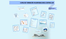 CURSO DE FORMACIÓN INCORPORACIONES CENTROS JUM