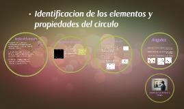 Copy of identificacion de los elementos y propiedades del circulo